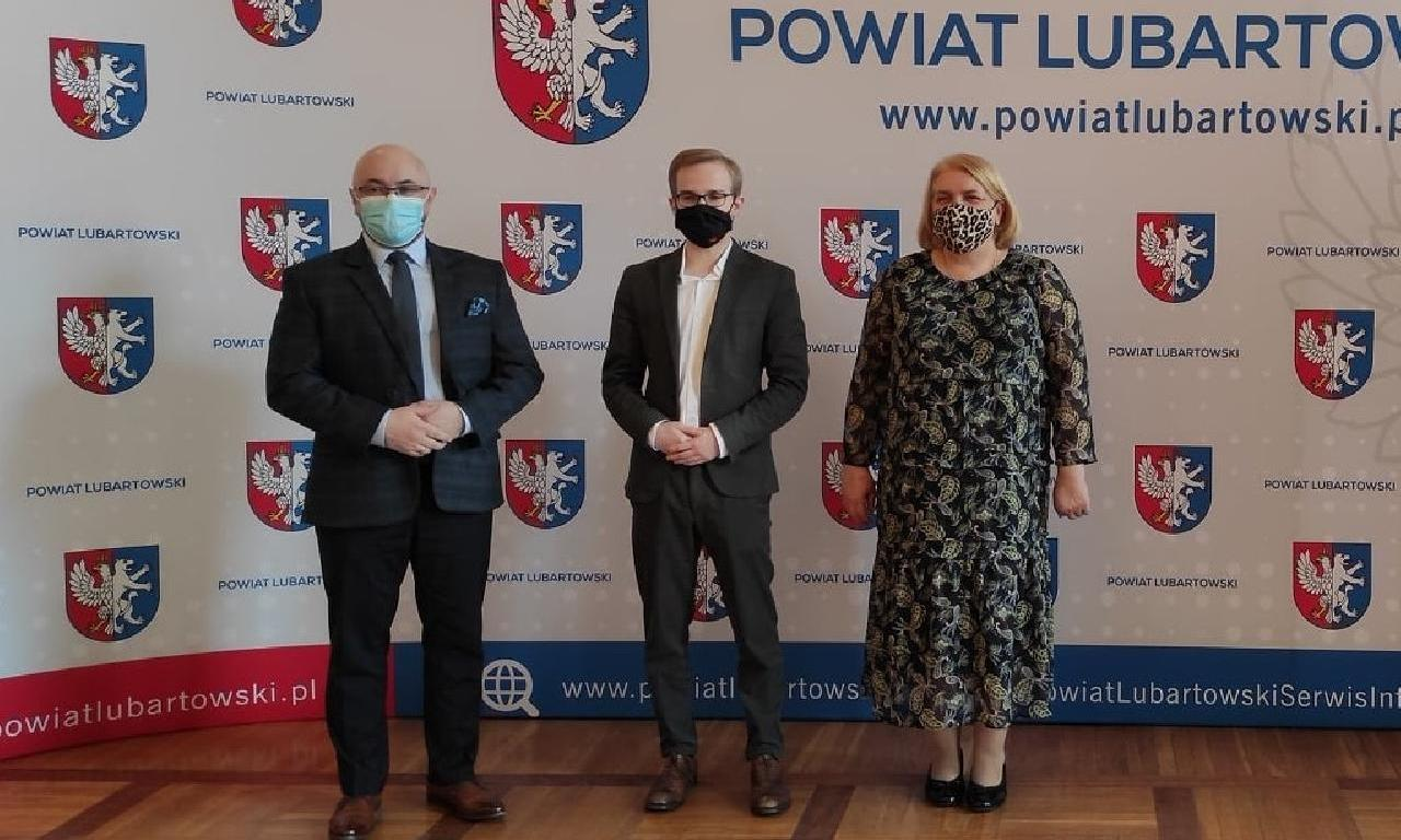 Wizyta wiceministra finansów Piotra Patkowskiego
