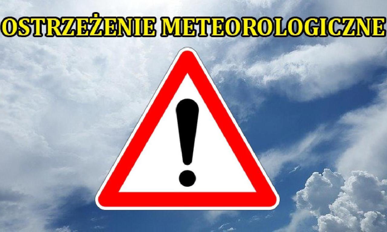 Ostrzeżenie meteorologiczne - Przymrozki